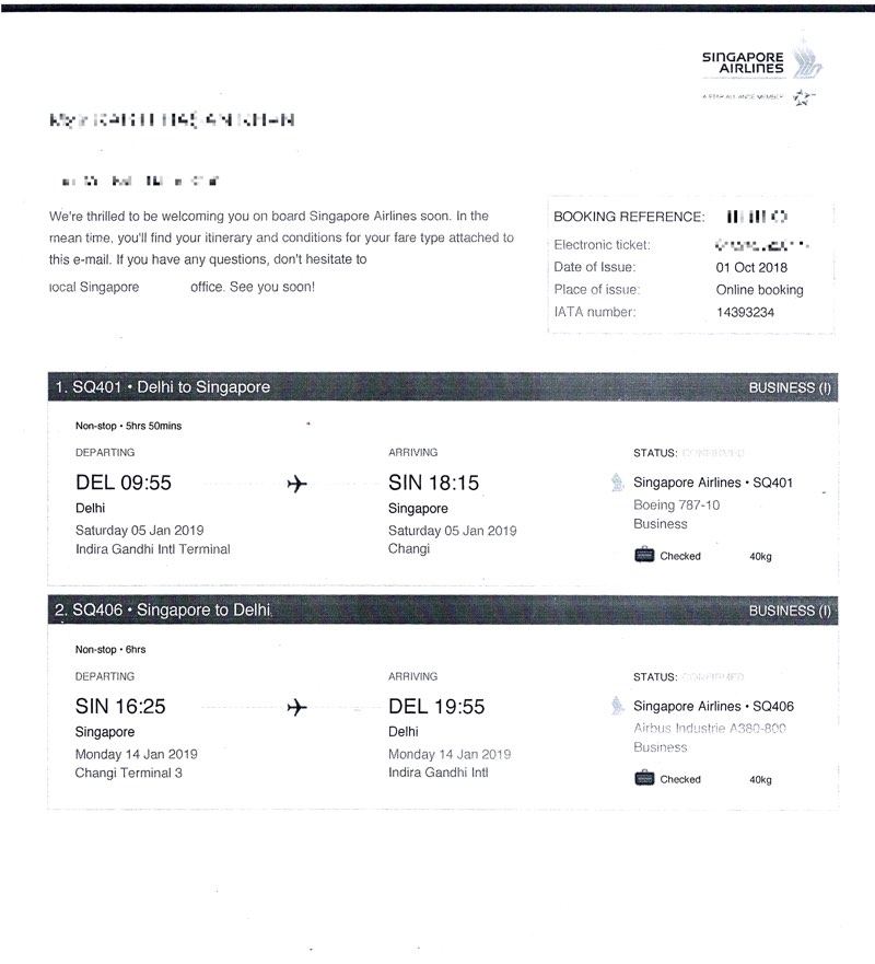 Business class return tickets… going cheap! – HappyMiles